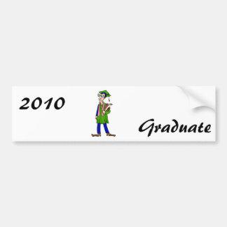 Artsy Graduate Bumper Sticker