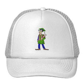 Artsy Graduate Mesh Hats