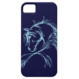 Artsy Horse Head Sketch iPhone 5 Case