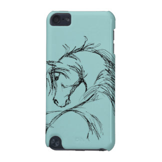 Artsy Horse Head Sketch iPod Touch (5th Generation) Covers