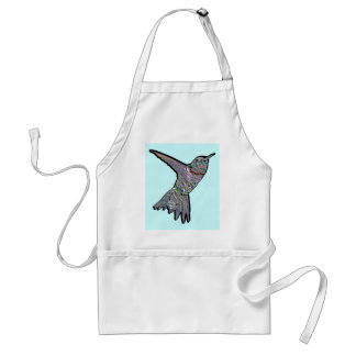 Artsy Hummingbird Standard Apron