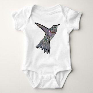 Artsy Hummingbird Baby Bodysuit