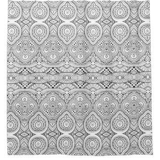Artsy Inspired Design Shower Curtain