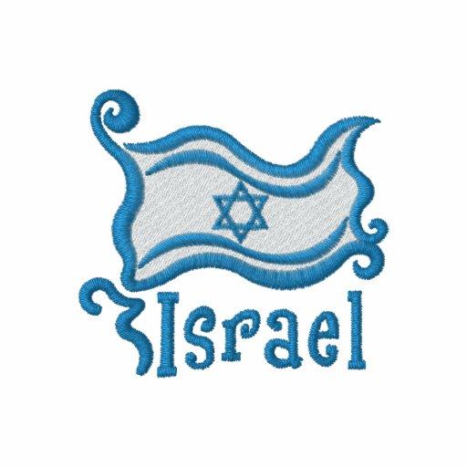 Artsy Israeli Flag Tees and Sweats