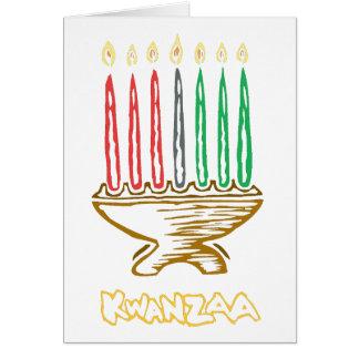 Artsy Kwanzaa Greeting Cards