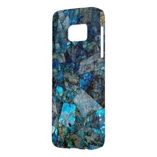 Artsy Labradorite Abstract Gems Galaxy S7 Case