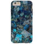 Artsy Labradorite Abstract Gems iPhone 6 Plus Case Tough iPhone 6 Plus Case