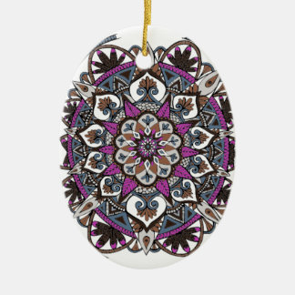 Artsy Mandala Ornament