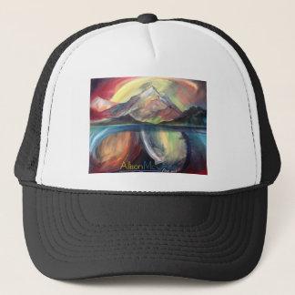 Artsy Mountain Trucker Hat