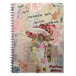 "Artsy Notebook ""Daydream Believer"""