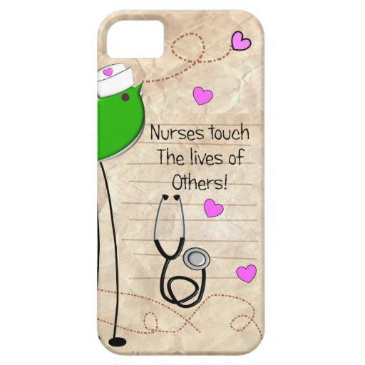 Artsy Nurse Bird iPhone 5 Covers