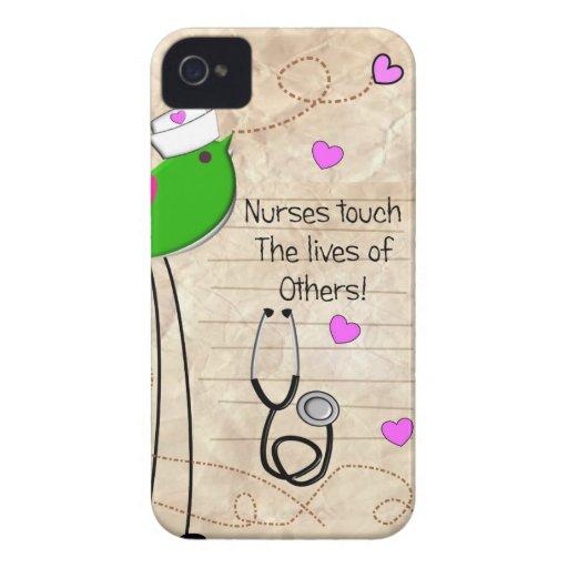 Artsy Nurse Bird iPhone 4 Case-Mate Case