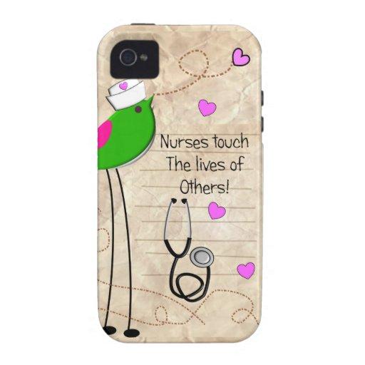 Artsy Nurse Bird iPhone 4/4S Cover