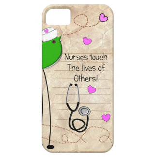Artsy Nurse Bird iPhone 5 Covers