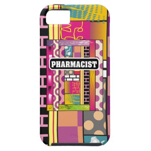 Artsy Pharmacist Gifts iPhone 5 Case