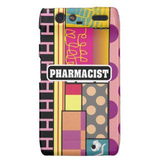 Artsy Pharmacist Gifts Motorola Droid RAZR Covers