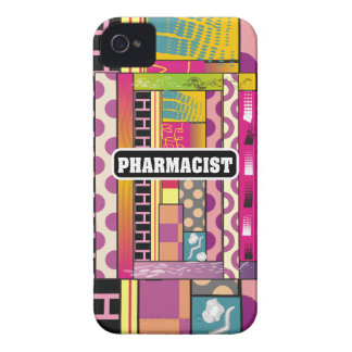 Artsy Pharmacist Gifts iPhone 4 Cover