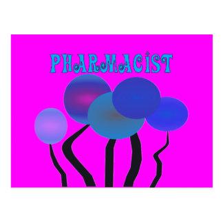 Artsy Pharmcist Gifts Postcard