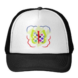 Artsy Polka Dot Butterfly Hat