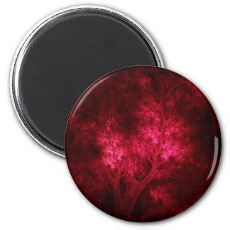 artsy_red_trees magnet