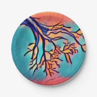 Artsy Tree Paper Plates
