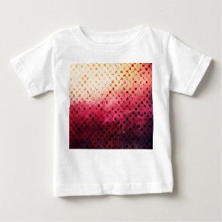 Artsy Vintage Pink Grunge Floral Cross Pattern Art T-shirts