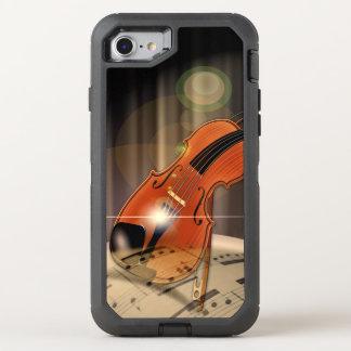 Artsy Violin Music OtterBox Defender iPhone 7 Case