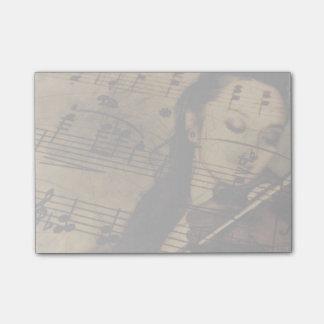 Artsy Violin Music Post-it Notes