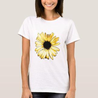 Artsy Yellow Gerbera Daisy T-Shirt