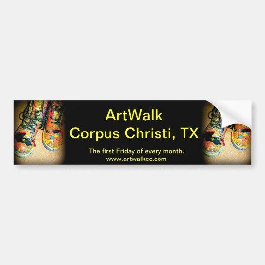 ArtWalk Corpus Christi, TX Bumper Sticker