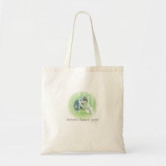 Artwork Australian Shepherd Agility Bag