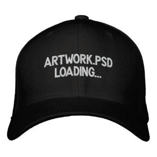 ARTWORK LOADING PHOTOSHOP EMBROIDERED HAT