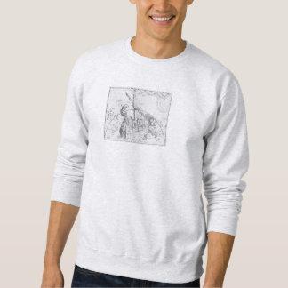 Artwork of Hevelius: Argo Navis Sweatshirt