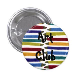 Arty 3 Cm Round Badge