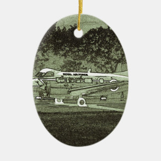 Arty De Havilland DH104 Devon Christmas Ornament