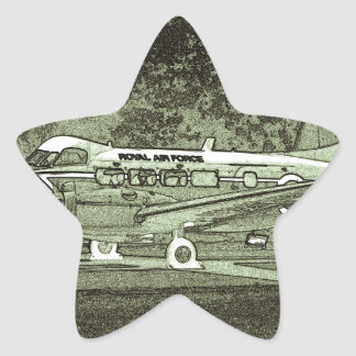 Arty De Havilland DH104 Devon Star Sticker
