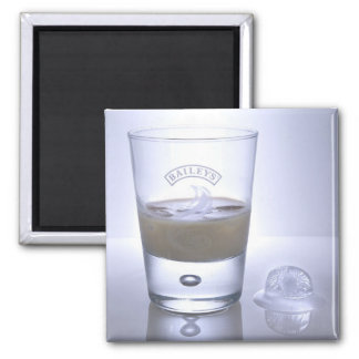 Arty Drink Square Magnet