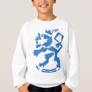 Arty Lion Kids' Sweatshirt