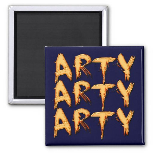 Arty Name-Branded Gift Magnet
