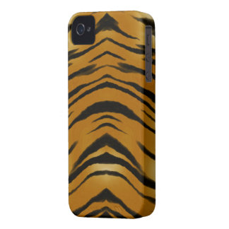 Arty Tiger Stripes Wild Animal Big Cat Phone Case Case-Mate iPhone 4 Case