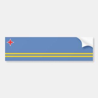 Aruba/Aruban Flag, Netherlands/Dutch Bumper Sticker