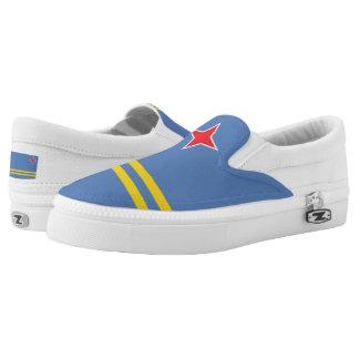 Aruba Arubian Flag Slip-On Shoes