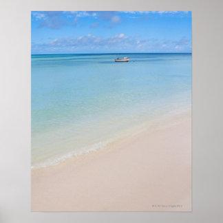Aruba, beach and sea 2 poster