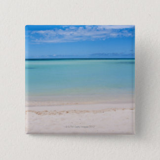 Aruba, beach and sea 3 15 cm square badge