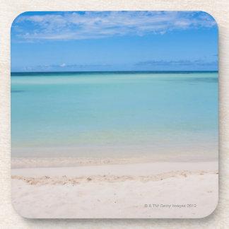 Aruba, beach and sea 3 beverage coaster