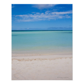 Aruba, beach and sea 3 poster