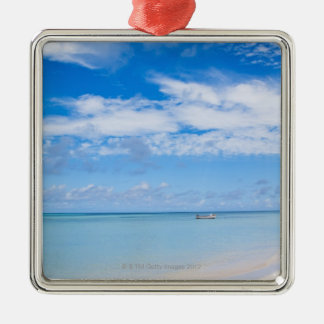 Aruba, beach and sea christmas ornament