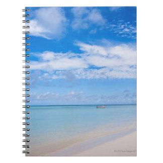 Aruba, beach and sea notebook
