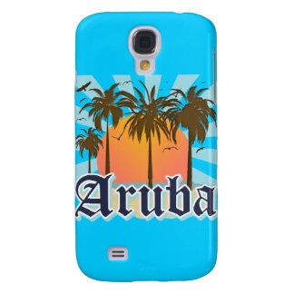 Aruba Beaches Sunset Galaxy S4 Case