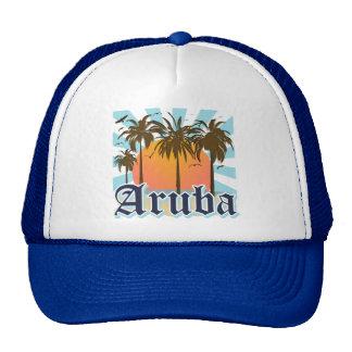 Aruba Beaches Sunset Trucker Hat
